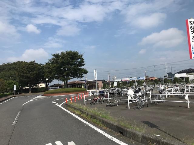 玉戸駅前風景